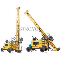 Buy cheap Full hydraulic-mounted Geological Drilling Rig Diesel Engine With Flexible Operating System from wholesalers
