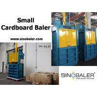 Buy cheap Small Cardboard Baler Machine from wholesalers