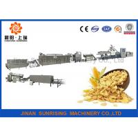 Buy cheap Breakfast Cereal / Corn Flake Production Line Corn Puff Extruder Machine from wholesalers
