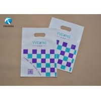 Buy cheap Eco - Friendly  Die Cut PE Garment Polythene Clothes Bags Customized from wholesalers