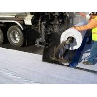 Buy cheap Road Construction Waterproof Polyester Fabric , nonwoven geotextile filter fabric from wholesalers