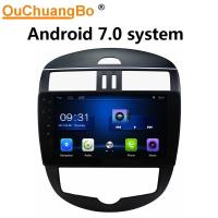 Buy cheap Ouchuangbo auto radio multimedia android 7.0 system for Nissan Tiida 2016 with BT USB SWC wifi music from wholesalers