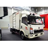 Buy cheap Light Duty Commercial Trucks / Delivery 17 Foot Box Truck With Low Fuel Consumption from wholesalers