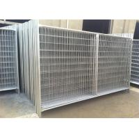 Buy cheap Porable Construction Fencing Panels Hot Dipped Galvanized Finished 2m x 3m from wholesalers