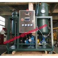 Buy cheap Stainless Steel Vacuum Turbine Oil Purification Plant, Emulsified Oil Filtration Equipment, Turbine Oil Recycling System from wholesalers