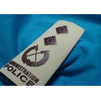 Buy cheap High Density Custom Clothing Patches , Heat Transfer Printing for Cotton Fabric Uniform from wholesalers