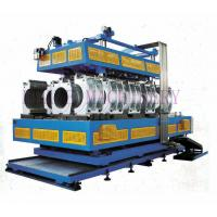 Buy cheap HDPE / PVC / PP Vertical  And Horizontal Pipe Extrusion Line Double Wall Corrugated from wholesalers
