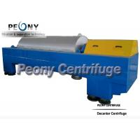 Buy cheap Continuous Decanter Centrifuges 3 Phase Centrifuge Oil Sludge Separator product