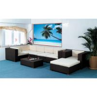 Buy cheap Rattan Furniture Set with Powder Coated Aluminum Frame from wholesalers