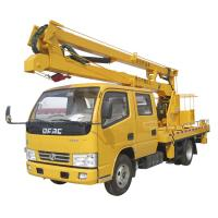 Buy cheap Euro III Dongfeng Diesel 12m Hydraulic Aerial Bucket Truck (CLW5040) from wholesalers