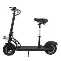 Buy cheap E4-6 Electric Bike 10 Inch Foldable Electric Scooter Two Wheel With Ajustable Seat from wholesalers