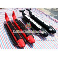 Buy cheap Air Welded Inflatable Banana Boat Water Toys Durable 0.9mm PVC Tarpaulin from wholesalers