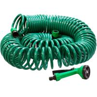 Buy cheap Garden water spray nozzle CS-5032 Recoil hose with brass fitting from wholesalers