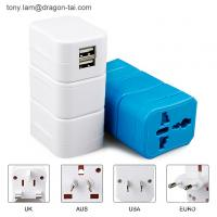 Buy cheap Custom Multi-nation 5V 1000mA DC Output Universal Adaptor Power Charger USB Plug Travel Ad from wholesalers