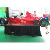 Buy cheap Single Screen Coin Operated Game Machine 360 Degree F1 Driving Simulator product