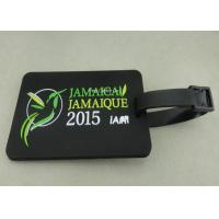 Buy cheap Personalized Soft PVC Luggage Tag , 2D Eco Friendly Rubber Personalized Luggage Tags product