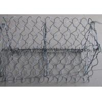 Buy cheap 1m Height Wire Gabion Baskets In Hot Dip Galvanized Or PVC Coated from wholesalers