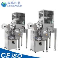 Buy cheap Nylon Clear Pyramid Tea Bag Packing Machine with High Measuring Accuracy from wholesalers