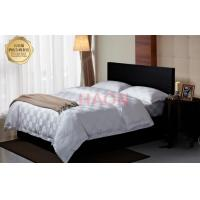 Buy cheap 100% Cotton  Luxury Hotel Bedding Sets  White 300TC 9cm checks from wholesalers