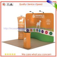 Stretch Fabric Exhibition Stands : Magnetic pop up exhibition stand promotion stretch