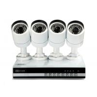 Buy cheap 4 Channel Mobile Viewing NVR Kits , P2P WIFI Four 720P IP Cameras from wholesalers