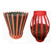 Buy cheap Oilfield Slip On Metal Steel Fins Cement Basket, Canvas Cementing Basket With Factory Price from wholesalers