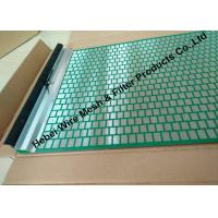 Buy cheap 40 - 400 Mesh Flat Oil Vibrating Screen For Model 500 Shale Shaker Mud Cleaner product