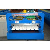 Buy cheap Speed 10 - 15m / min Roofing Sheet Roll Forming Machine For Construction Material from wholesalers