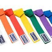 Buy cheap OEM 100% cotton martial arts Taekwondo Color Belts , 4CM Width from wholesalers