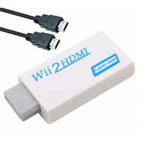 Buy cheap Wii to HDMI Converter Adapter with 3ft High Speed HDMI Cable Wii2HDMI Adapter Output Video Audio with 3.5mm Jack Audio from wholesalers