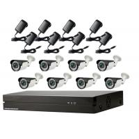 Poe Security Camera System 1080p , External Bullet Camera Cctv Home Kits