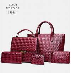 Buy cheap Women Girl Messenger Bag PU Leather Satchel Lady Handbag Shoulder Bags bag happy from wholesalers