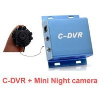 Buy cheap Hidden Camera | Mini Security DVR SD Card night vision camera from wholesalers
