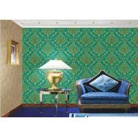 Buy cheap PVC Vinyl Large Print Damask Wallpaper For Interior Walls , Eco Friendly from wholesalers