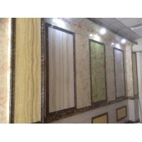 Buy cheap Artificial Marble PVC wall board / UV light panel With Light Color from wholesalers