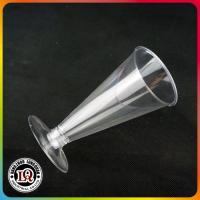 Buy cheap disposable plastic champagne glass cups from wholesalers
