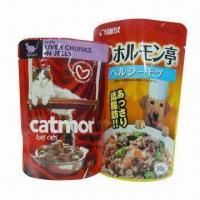 Buy cheap Retort Pouches for Pet Food, Easy Sealing on Different Vacuum Packer, Made of PET from wholesalers