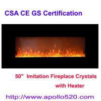Buy cheap European Electric Heater Fireplace Crystals from wholesalers