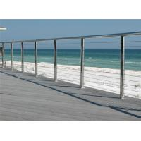 Buy cheap Stainless steel railing systems prices cable handrail cable balustrade from wholesalers