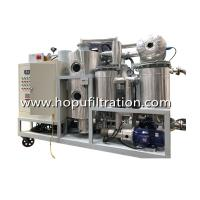 Buy cheap HOPU Cooking Oil Purifier, virgin coconut oil, vegetable oil, Palm Oil Decolorization Machine,press impurity factory from wholesalers