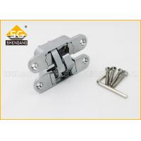 Buy cheap Furniture Hardware 3D Concealed Invisible Door Hinges For Internal Wood Door from wholesalers