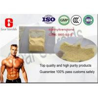 Buy cheap Medicine Grade Beginner Muscle Building Steroids Powder Methyltrenolone 965-93-5 from wholesalers