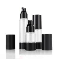 Buy cheap Cylinder 15ML 30ML 50ML Lotion Spray Airless Pump Bottles product