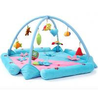 Buy cheap Personalised Happy Garden Blue Baby Play Gyms Soft Foam Floor from wholesalers