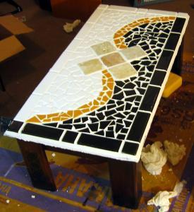 Buy cheap Kitchen decoration mixed crystal glass mosaic CGAM22 product