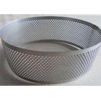 Buy cheap Galvanized Perforated Stainless Steel Mesh Sheet For Filtration Support from wholesalers