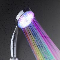Buy cheap 7 colors multiple changing rainfall led light shower head from wholesalers