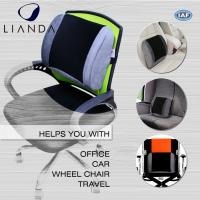 Buy cheap Posture Corrector Alleviates Pain Back Support PU Waist Lumbar Support Cushion For Office Chair from Wholesalers