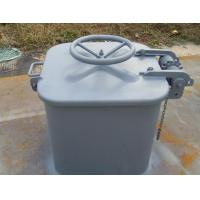 Buy cheap Grey Paint A60 Single Pull Hatch Cover Escape Quick Action For Marine Ships from wholesalers