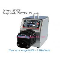 Buy cheap intelligent dispensing peristaltic pump / chemical dosing pump from wholesalers